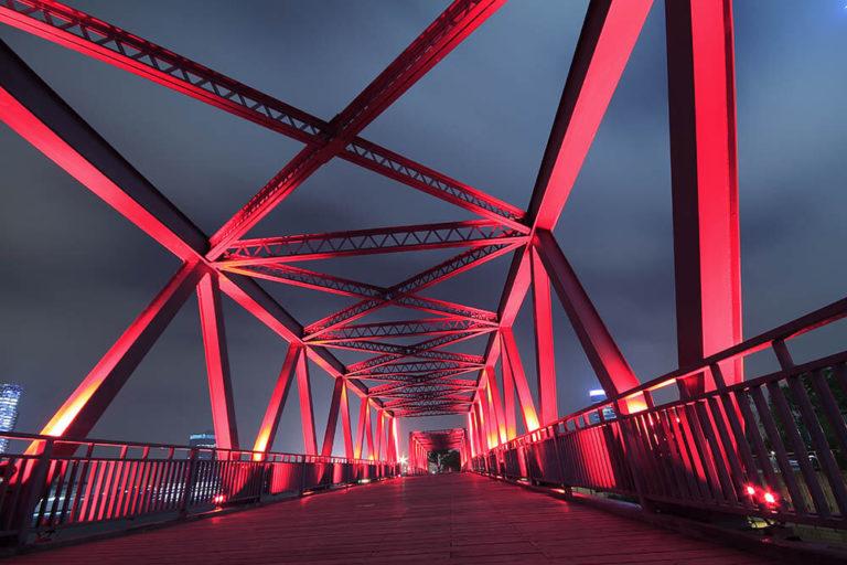 ASME most czerwony