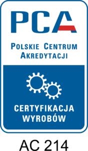 Akredytacja PCA TUV Thuringen